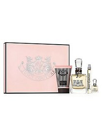 Juicy Couture Eau de Parfum 4-Piece Gift Set NO CO