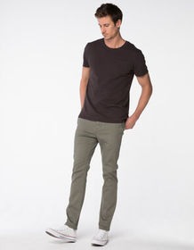 RSQ Seattle Skinny Taper Heather Olive Mens Chino