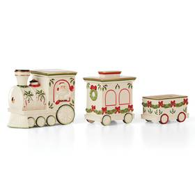 Lenox Train Car 3-Pc Candy Dish
