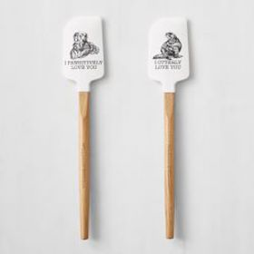 Animal Love Spatulas, Set of 2