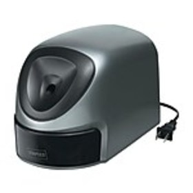 Staples® Electric Pencil Sharpener, Gray/Silver (3