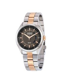 Citizen Men's Two-Tone Eco-Drive HTM Steel Watch A
