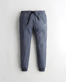 Hollister Skinny Terry Jogger Pants, HEATHER NAVY