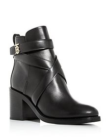 Burberry - Women's Pryle Block High-Heel Booties