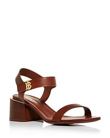 Burberry - Women's Hollywell Block-Heel Sandals