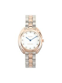 Nicole Miller Mother of Pearl and Rose Gold Genuin