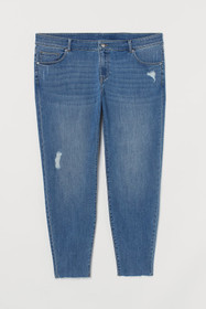 H&M+ Skinny Cropped Jeans