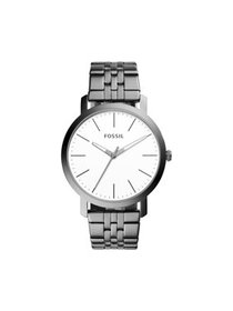 Fossil Men's Luther Three-Hand Smoke Stainless Ste