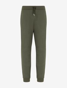 Armani STRAIGHT-FIT STRETCH-COTTON TROUSERS