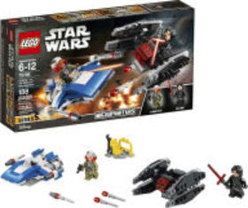 Title: LEGO Star Wars A-Wing vs. TIE Silencer Micr