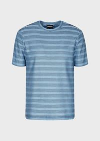 Armani Striped piqué T-shirt