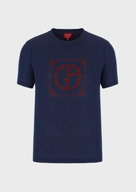 Armani T-shirt with Chinese New Year jacquard desi