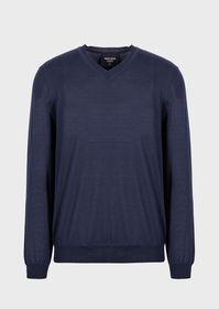 Armani Pure cashmere V-neck sweater