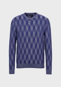 Armani Sweater with 3D motif