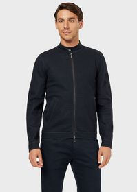 Armani Virgin wool blouson