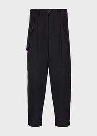 Armani Cargo trousers in light wool