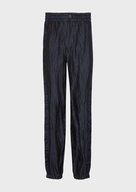Armani Tumbled pinstriped trousers