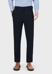 Armani Slim-fit trousers in rep fabric