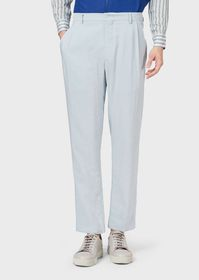 Armani Flowing silk trousers