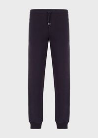 Armani Jersey joggers with Chinese New Year embroi