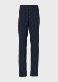 Armani Pinstriped trousers