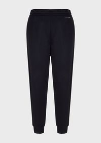 Armani Jogging trousers in double-thickness microm