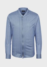 Armani Regular-fit shirt in exclusive micro-check