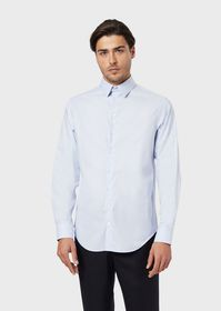 Armani Regular-fit shirt in stretch fabric