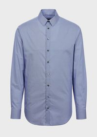 Armani Regular-fit shirt in an exclusive micro-pat