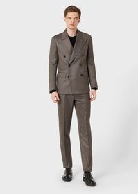Armani Regular fit, deconstructed suit from the Tr