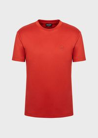 Armani Cotton jersey T-shirt with embroidered logo