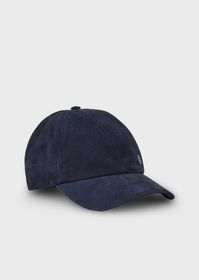 Armani Hat with suede visor
