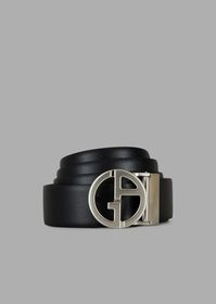 Armani Gift set with reversible belt panel and two