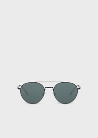 Armani Sunglasses with round frame