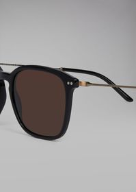 Armani Sunglasses with dual material frame