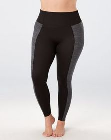 Spanx Booty Boost Active Printed Leggings, Heather