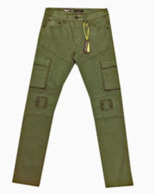 Buyers Picks rip and tear stretch cargo pant