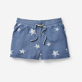 Women's West Sound Terry Shorts - Star Print