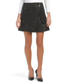 FREE PEOPLE Carson Utility Skirt