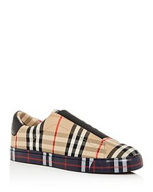 Burberry - Women's Markham Vintage Check Low-Top S
