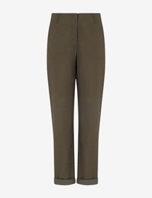 Armani LEGGINGS WITH CONTRASTING STRIPE