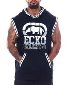Ecko big hit sleeveless hood (b&t)