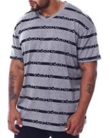 Ecko ecko repeat s/s v neck (b&t)