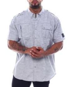 Ecko confronted s/s woven (b&t)