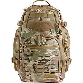 Highland Tactical Roger Tactical Backpack with Las