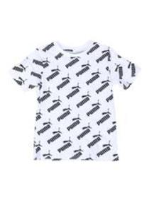 Puma amplified pack all over print tee (8-20)