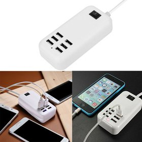 USB Charger USB Wall Charger 6-Port Family-Sized S