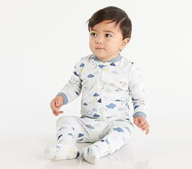 Pottery Barn Raindrops Nursery Pajama