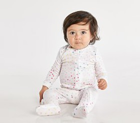 Pottery Barn Nadia Dot Nursery Pajama