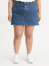 Levi's Deconstructed Skirt (Plus Size)